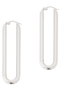 Sportmax Hoop Silver Earrings - Alternate List Image