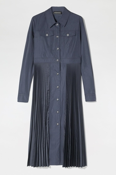 Sportmax Lettera Pleated Shirt Dress - Product List Image