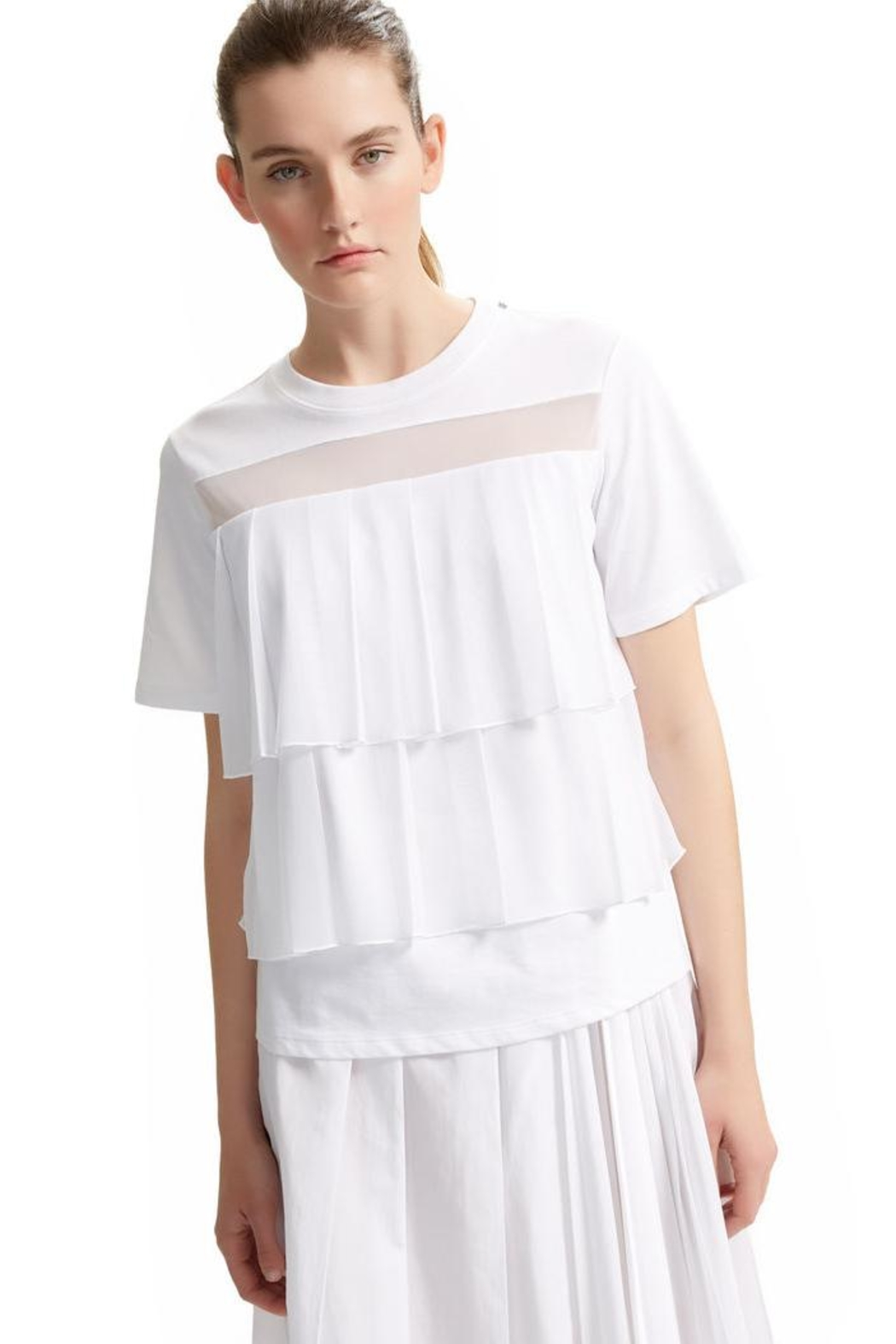 Sportmax Pleat-Front t-Shirt - Front Cropped Image