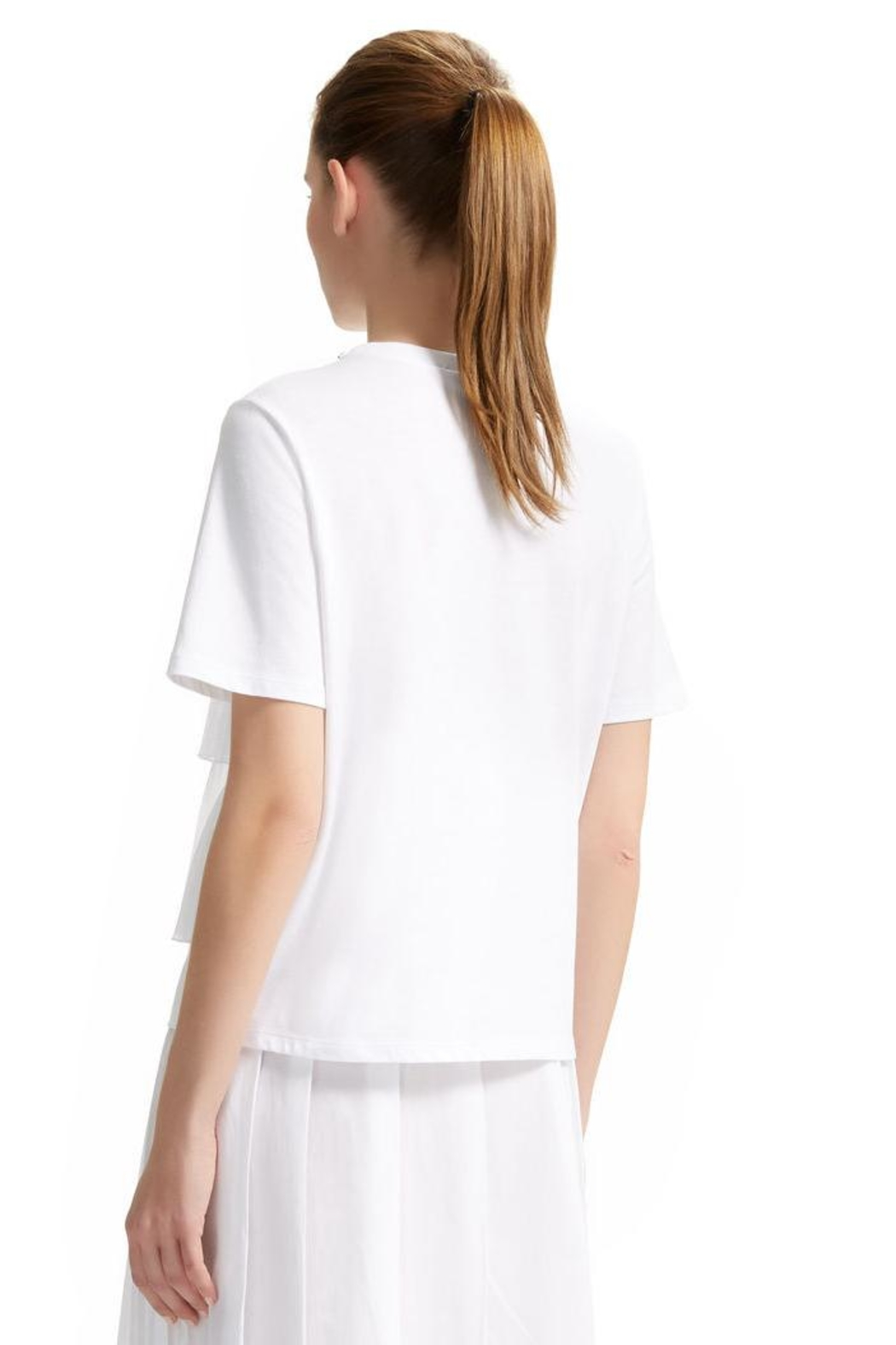 Sportmax Pleat-Front t-Shirt - Front Full Image