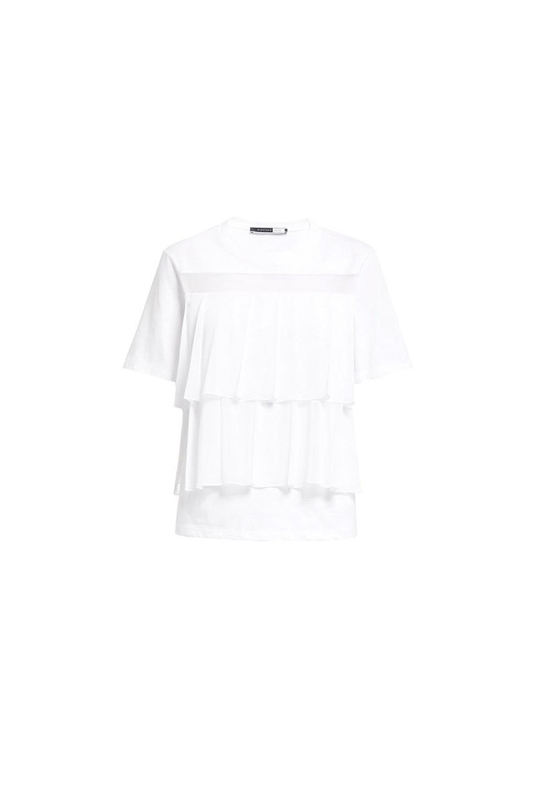 Sportmax Pleat-Front t-Shirt - Back Cropped Image
