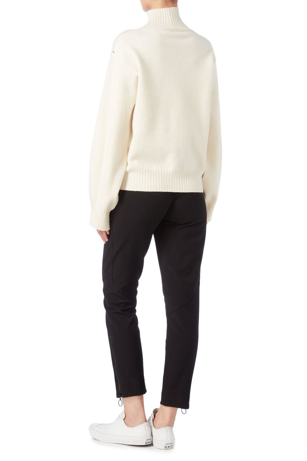 Sportmax Rasoio Floral Sweater - Side Cropped Image