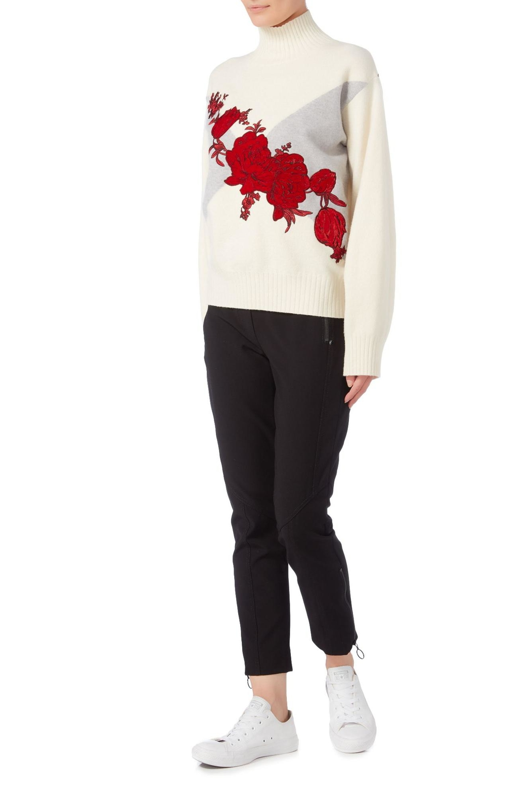 Sportmax Rasoio Floral Sweater - Front Full Image