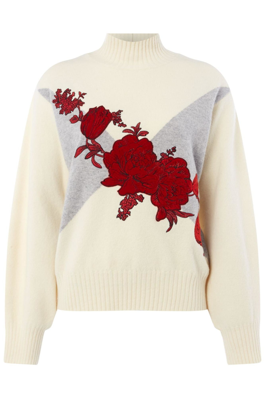 Sportmax Rasoio Floral Sweater - Front Cropped Image