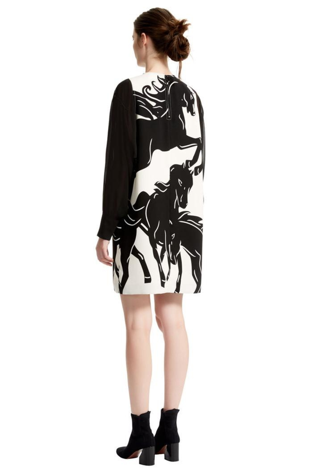 Sportmax Renier Horses Dress - Front Full Image