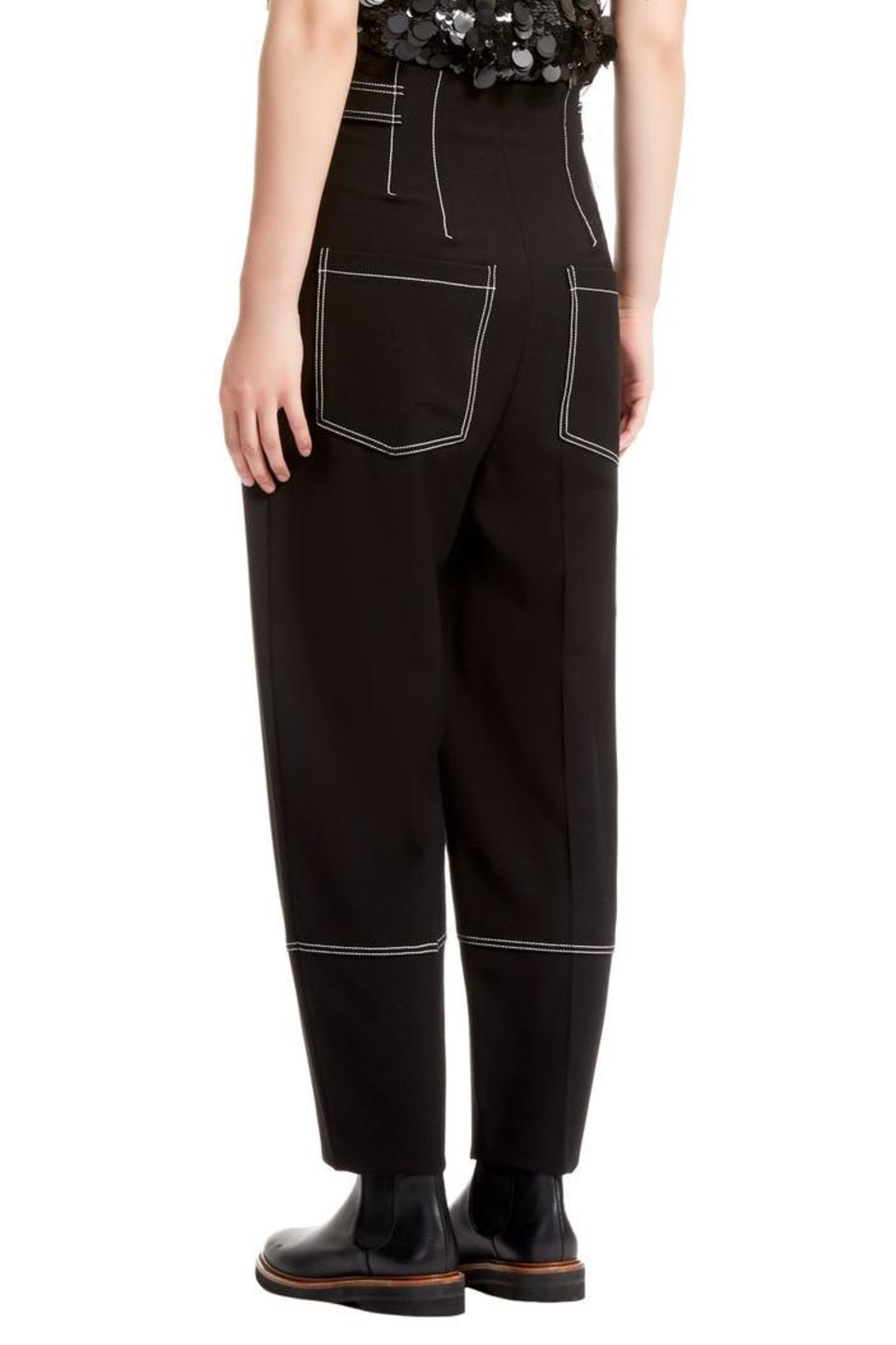 Sportmax Xiria Trousers - Side Cropped Image