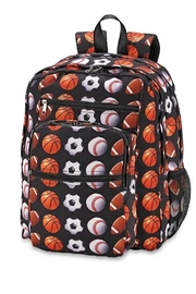 Top Trenz Sports Theme Backpack - Product Mini Image