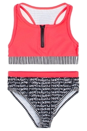 Romy & Aksel Sporty Spice Swimsuit - Front cropped