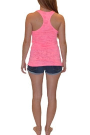 Sporty Girl Apparel  Antler Heart Tank - Front full body