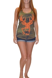 Sporty Girl Apparel  Army Camo Tank - Product Mini Image