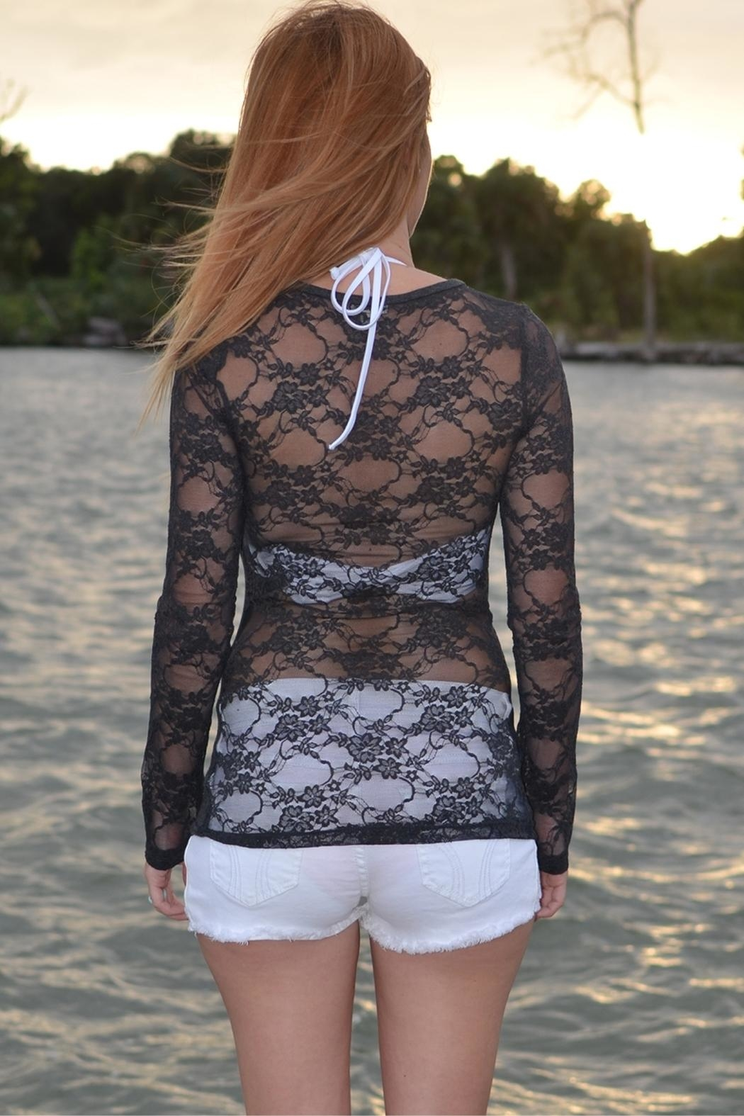Sporty Girl Apparel  Gray Mermaid Lace - Front Full Image