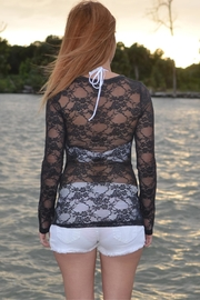 Sporty Girl Apparel  Gray Mermaid Lace - Front full body