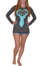Sporty Girl Apparel  Gray Thermal Longsleeve - Product Mini Image