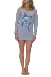 Sporty Girl Apparel  Grey Marlin Dress - Product Mini Image