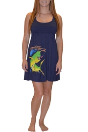 Sporty Girl Apparel  Mahi Navy Dress - Product Mini Image