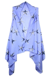 Sporty Girl Apparel  Periwinkle Starfish Vest - Product Mini Image