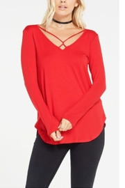 Sporty Girl Apparel  Red Strapy Tunic - Product Mini Image