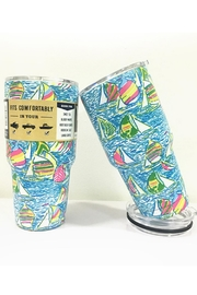 Sporty Girl Apparel  Sailboat Lilly Tumbler - Product Mini Image