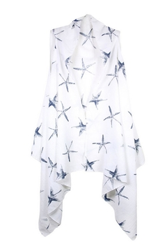 Sporty Girl Apparel  Starfish Cardigan Vest - Product List Image