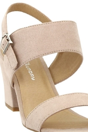 Chinese Laundry Spot On Nude Suede Heel - Back cropped