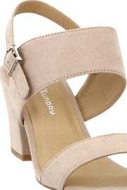 Chinese Laundry Spot On Nude Suede Heel - Side cropped