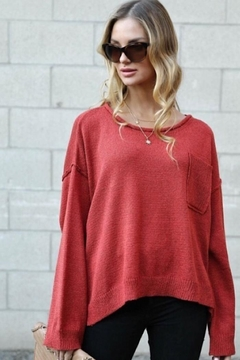 Spotlite Top Pocket Sweater - Product List Image
