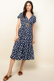 Thml Spotted Button Down Dress - Product Mini Image