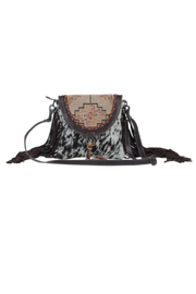 Myra bag  Spotted Cowhide and Leather Bag - Product Mini Image