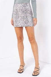 Le Lis Spotted Suede Skirt - Product Mini Image