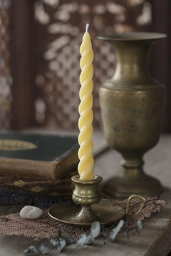 Beacon Candle Company Sprial Beeswax Taper - Alternate List Image
