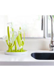 boon by Tomy Sprig Countertop Drying Rack - Side cropped