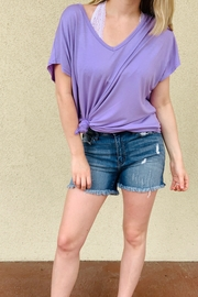 PEACELOVECAKE Spring Beaux Top - Front cropped