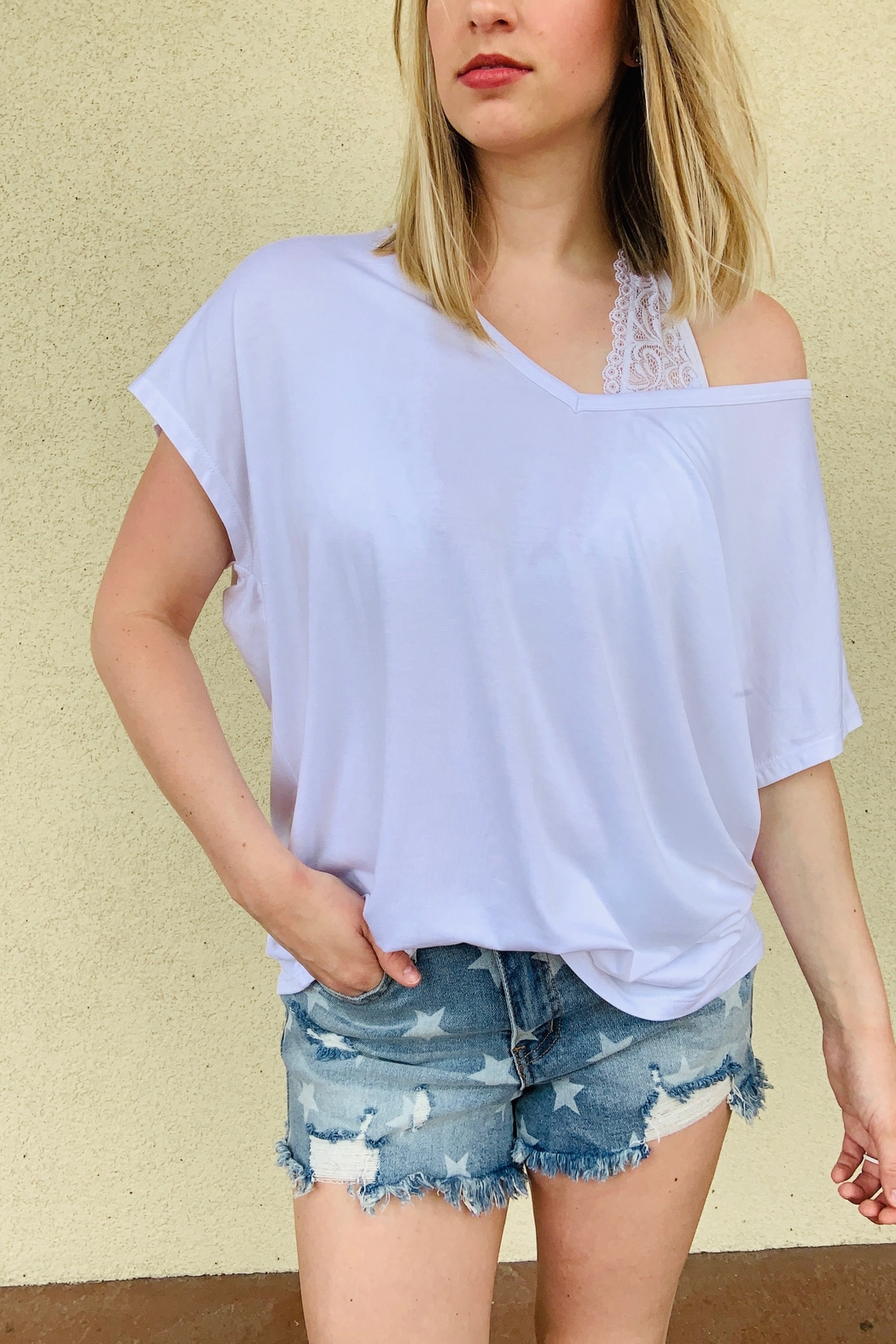 PEACELOVECAKE Spring Beaux Top - Front Cropped Image