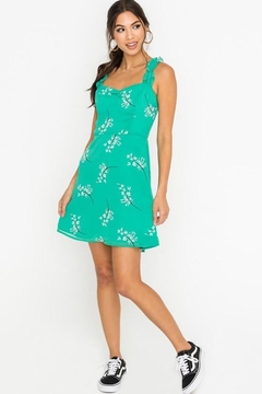 Lush Spring Blossoms Dress - Product List Image