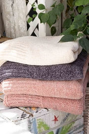POL Spring Chenille Blanket - Front cropped