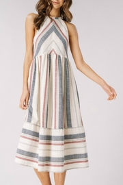 Listicle Spring Chevron Dress - Side cropped