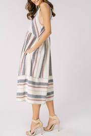 Listicle Spring Chevron Dress - Front full body