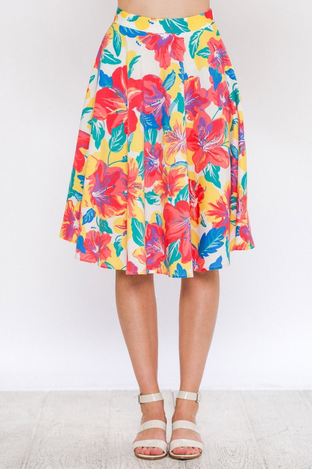 Flying Tomato Spring Colors Skirt - Main Image