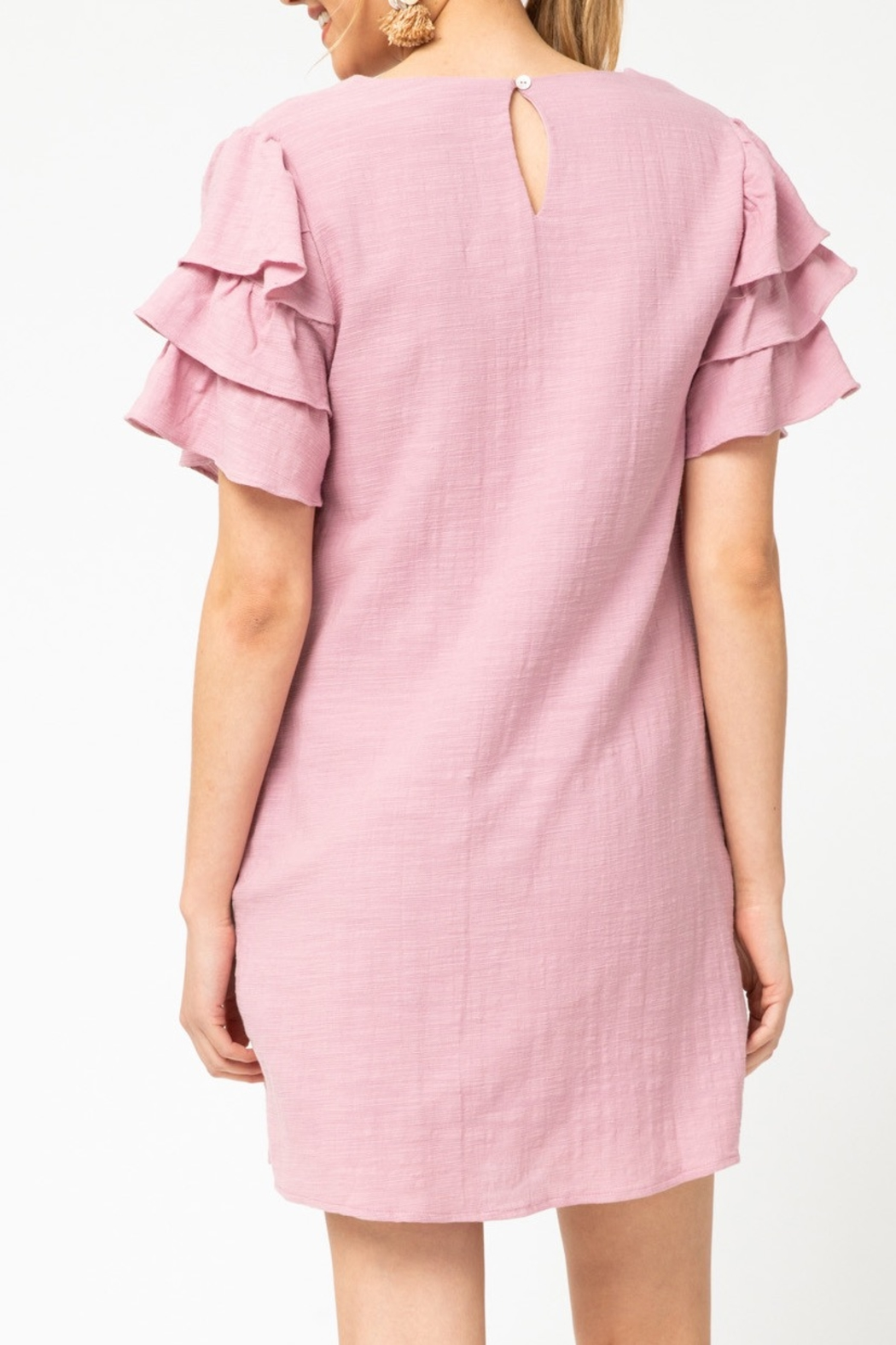 entro  Spring Fab Dress - Front Full Image