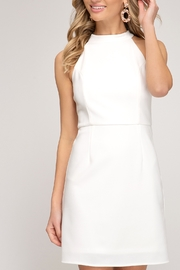 She and Sky Spring Feelings Dress - Front cropped