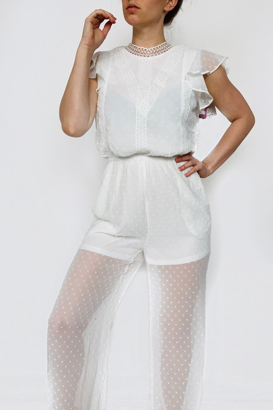 andree  Spring Feelings Jumpsuit - Front Cropped Image