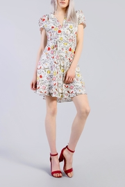 Glamorous Spring Floral Dress - Product Mini Image