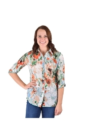 True Blue Clothing Spring Floral Print - Product Mini Image
