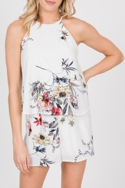 Ces Femme Spring Floral Romper - Product Mini Image