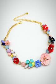 Embellish Spring Flower Necklace - Product Mini Image