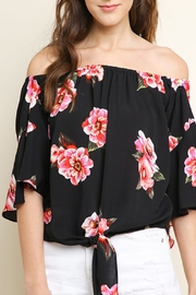 Umgee USA Spring Flowers top - Product Mini Image