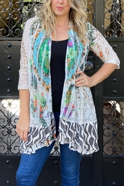 Kamana Spring Garden long cardigan - Product Mini Image