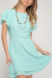 She + Sky Spring Happiness Dress - Product Mini Image