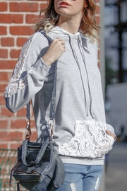 Lyn-Maree's  Spring Lace Sweatshirt - Product Mini Image