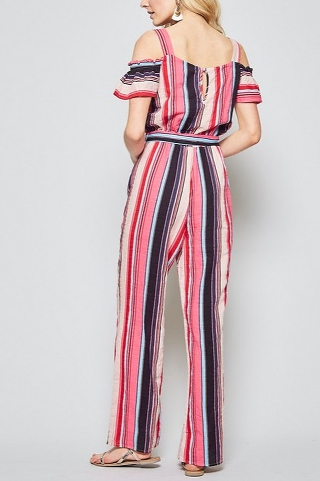 Andree by Unit Spring Ready Jumpsuit - Side Cropped Image